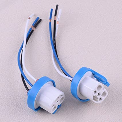 Amazon.com: D-Sporting Goods Car Auto 2Pcs 9007 9004 ... on 9004 bulb wiring, 9003 bulb wiring, h4 to h13 wiring,