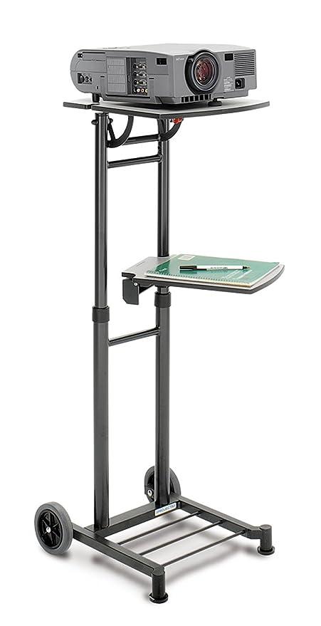 Da-Lite 90095 Proyector Multimedia Cart Negro Mueble y Soporte ...