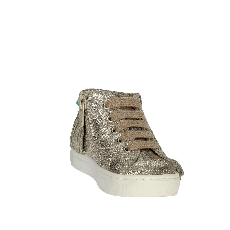 c20493b26680b Florens E2569 Sneakers Fille Platine 20  Amazon.fr  Chaussures et Sacs