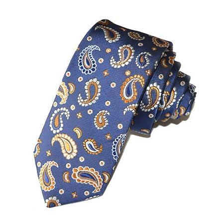 LG GL Tie Dress Tie Ultra Estrecho Corbata de patrón para Hombre ...