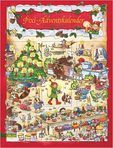 Pixi-Adventskalender: mit 24 Pixi-Büchern, Hochformat mit ...