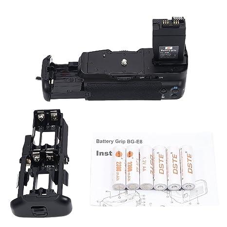 DSTE Multi-Power - Batería Compatible con empuñadura de cámaras ...