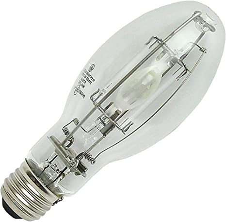 Ge 45683 150 Watt Ed17 Pulsearc Multi Vapor Pulse Start Metal Halide Protected Arc Tube 3500k Medium Base Ansi M102 O Universal Burn Mxr150 U Med O Metal Halide Bulbs Amazon Com