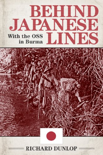 Behind Japanese Lines: With the OSS in Burma cover