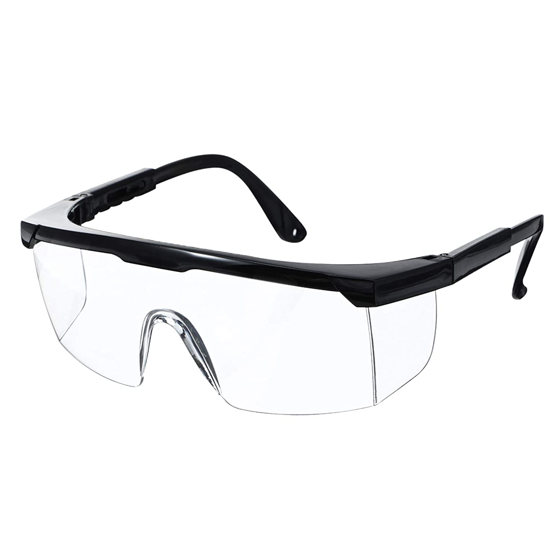 Gafas de Seguridad NASUM, Gafa de Protección, Gafas a Prueba de Polvo, Gafas Protectoras, Plegable Gafas Protectoras, para Uso Industrial, Agrícola o de Laboratorio (1 Par)