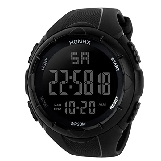 Luxury Men Analog Digital Military Army Sport Led Waterproof Wrist Watch Women Sport Watch Silicone Electronic Watch Waterproof Watches Digital Watches