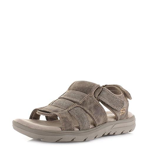 Equipt Supreme Vestir Skechers De Sintético Sandalias Material Hombre Para Yfb7y6g