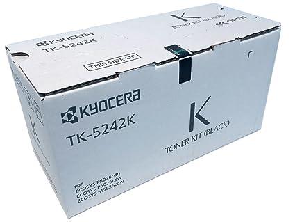 d7847bf08e95 Amazon.com  Kyocera 1T02R70US0 Model TK-5242K Black Toner Cartridge ...