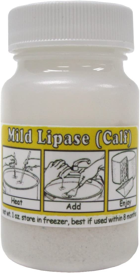 Mild Lipase Powder (Calf) 1oz
