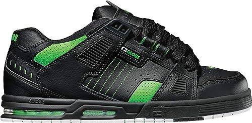 GLOBE Sabre Zapatillas de Deporte para Niños, Negro (Black/Moto Green 000) 37 EU: Amazon.es: Zapatos y complementos