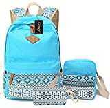 School Backpack for Teen Girls, Canvas College School Bag Backpacks for Women