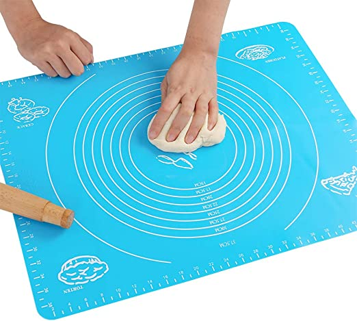Non Stick Silicone Baking Mat Kneading Dough Pastry Baking Rolling Mats Safety