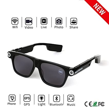 f4d913add7 Image Unavailable. Image not available for. Color  Bluetooth Camera  SunGlasses 32GB