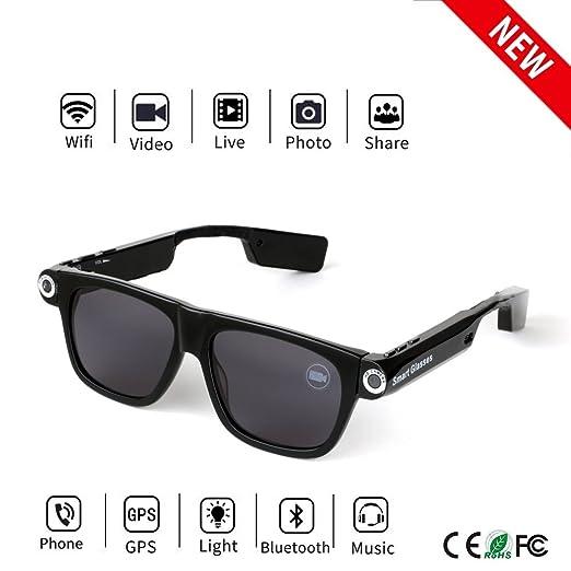 Amazon.com: Bluetooth Camera Sunglasses 32GB: Home Audio ...