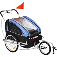 Confidence 2 in 1 Baby Bike Trailer w/Suspension