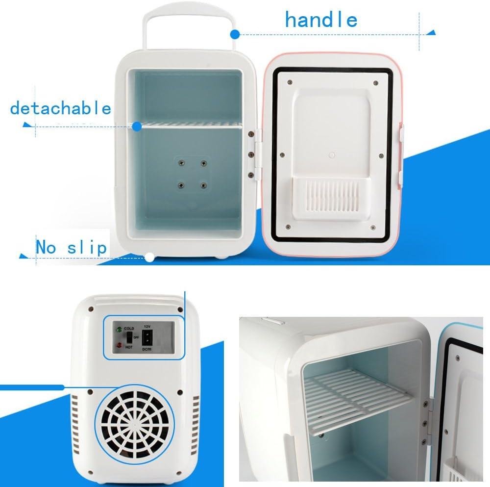 DavidLee 4/litros//6/Pueden Mini de congelador 110/V port/átil cosm/ético Frigor/ífico Mini el/éctrico de Enfriador y Calentador Indoor Car Uso