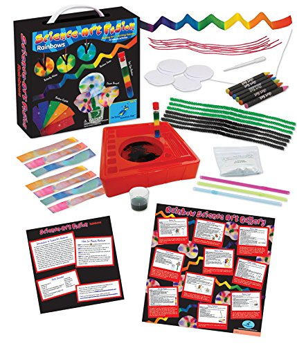 The Young Scientists Club Science Art Fusion Rainbows Kit