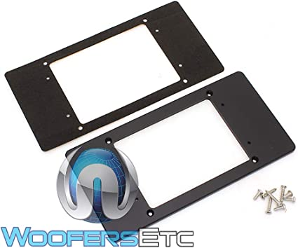 JL AUdio MMP-1-BK Mounting Adaptor Plate for JL Audio MM100s Source Unit New
