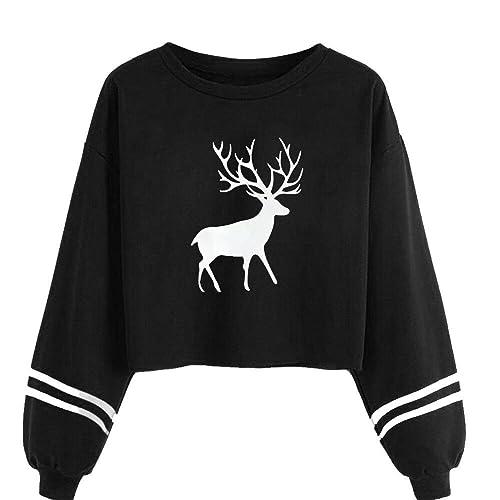 EUZeo_Women Blouse - Camisas - Moda - Cuello redondo - Manga Larga - para mujer