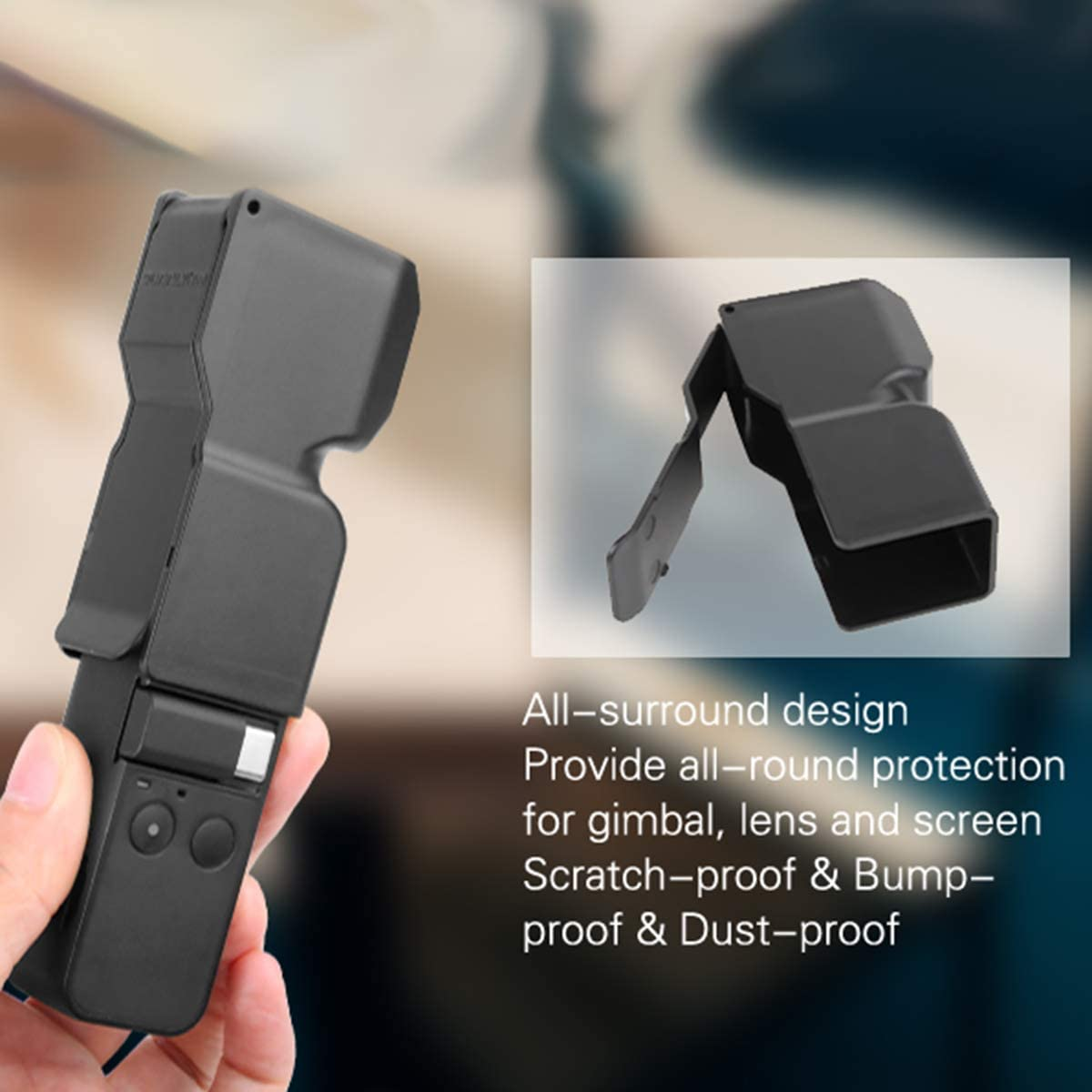 Screen Protection iEago RC Upgraded Tempered Glass Films Lens Protection Film Full Coverage for DJI Osmo Pocket Accessories