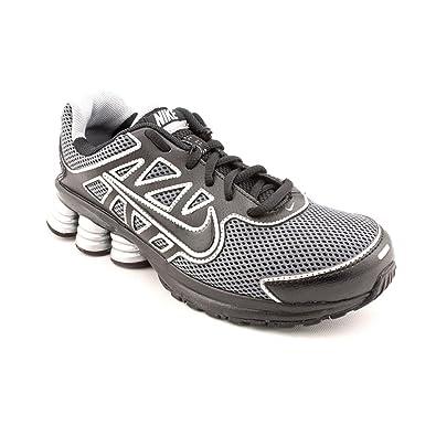 003e3336c975b2 NIKE Shox Qualify 2 BG Youth Boys Black Running Shoes Size 3 UK   Amazon.co.uk  Shoes   Bags