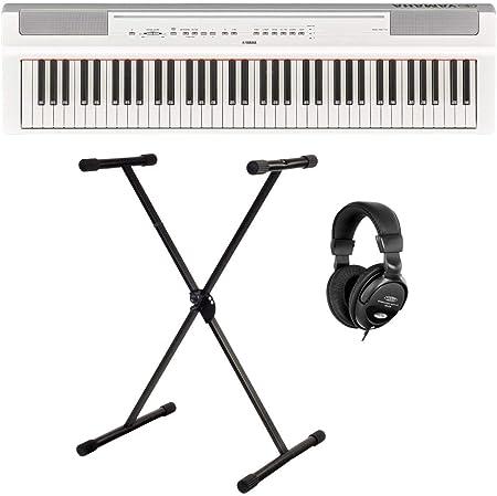 Yamaha P-121WH - Piano de escenario (73 teclas sensibles al ...