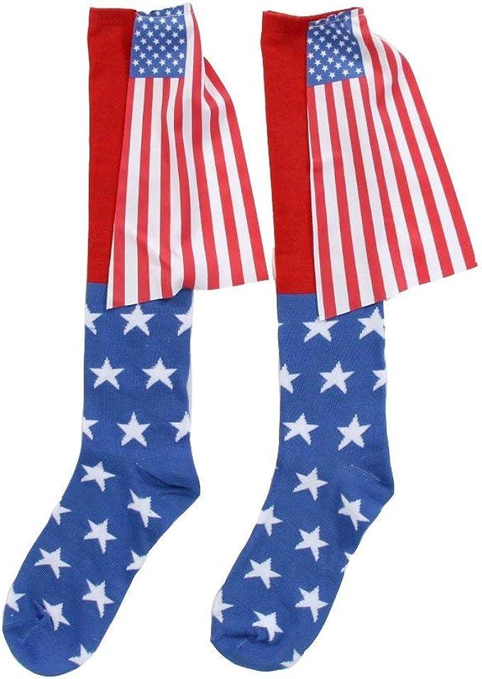 Bandera de Estados Unidos capa calcetines: Amazon.es: Ropa y ...