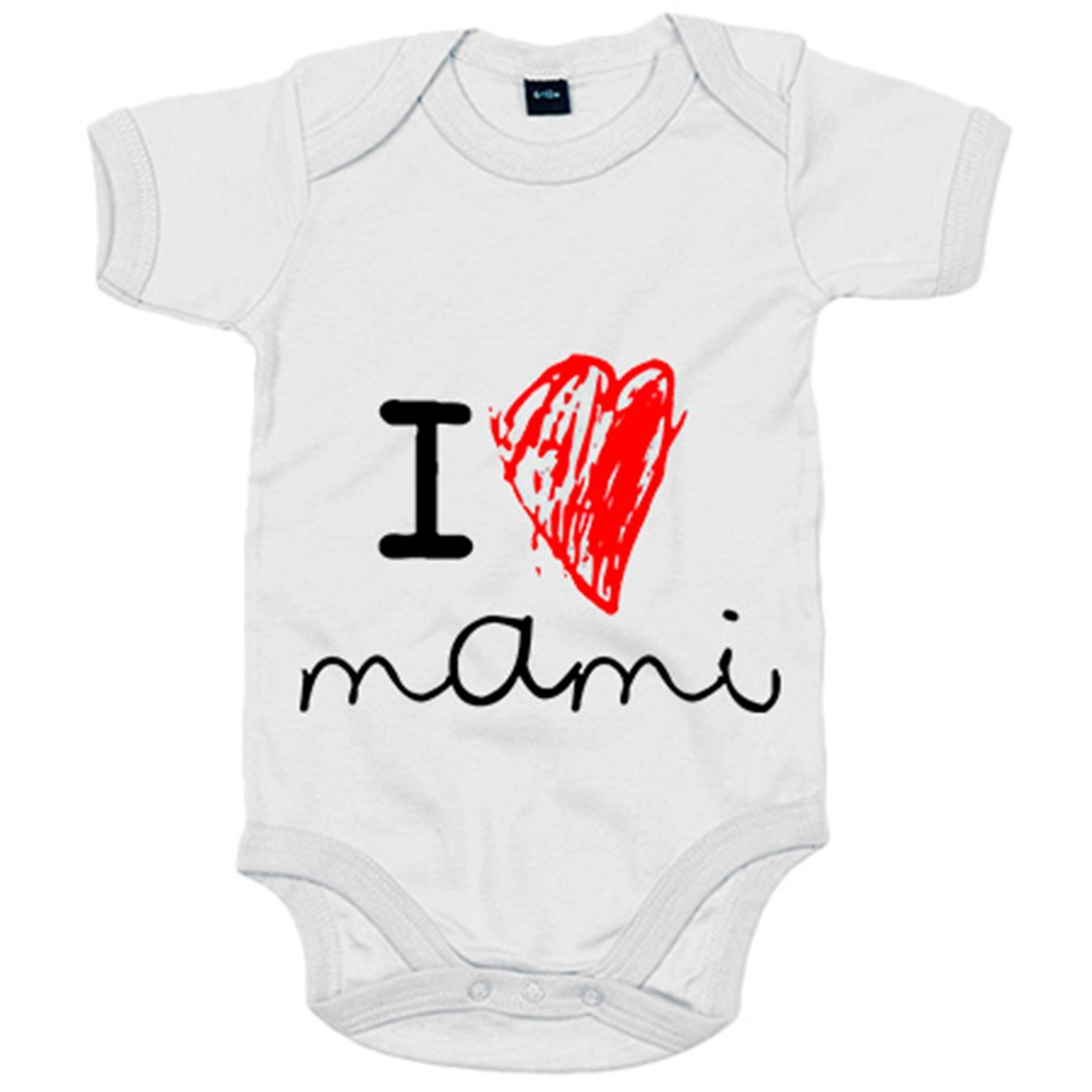 Body bebé I Love mami català - Amarillo, 6-12 meses: Amazon ...