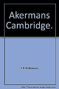 Akermans Cambridge.