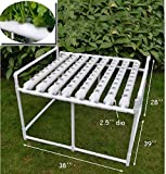 72 Holes Hydroponic Site Grow Kit Garden Plant System with Nest Basket Water Pump and Sponge #141053