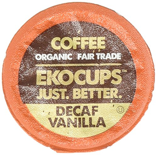 EKOCUPS Artisan Organic Vanilla Recyclable