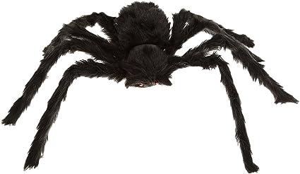 BAG OF 8 BLACK /& GRAY  HALLOWEEN SPIDER Haunted Prop