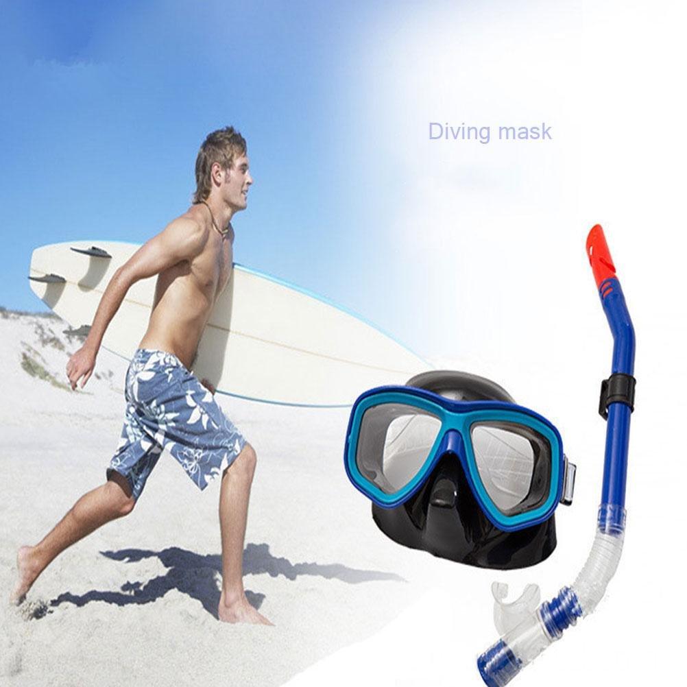 YUSHI Semi-Dry HD HD HD PC große Rahmen Anti-Fog Wasserdichte Schnorchel Maske B07M8ZTCTH Tauchmasken Eigenschaften d35d3a