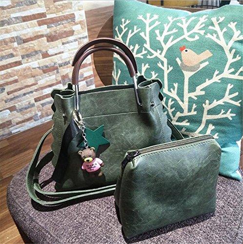 Aoligei Banlieue simple sac à main métal levage poignée unique épaule sac messenger