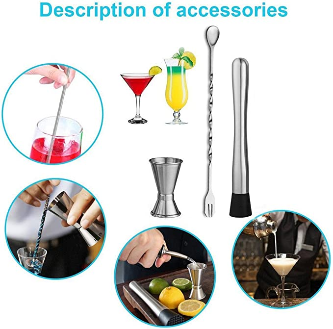 "Jumbo 10/"" Wood Drink Muddler Mojito Bar Supplies Cocktail Infusion Mixologist"