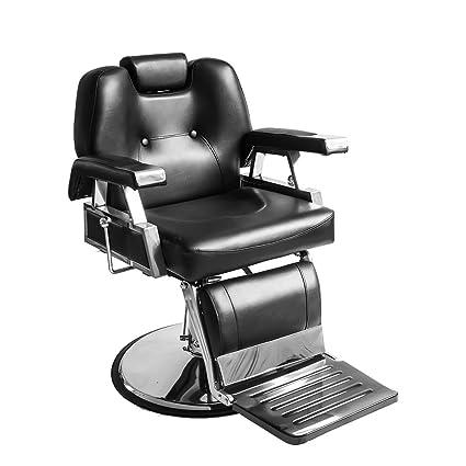 Silla de peluquería de salón de belleza, reclinable ...