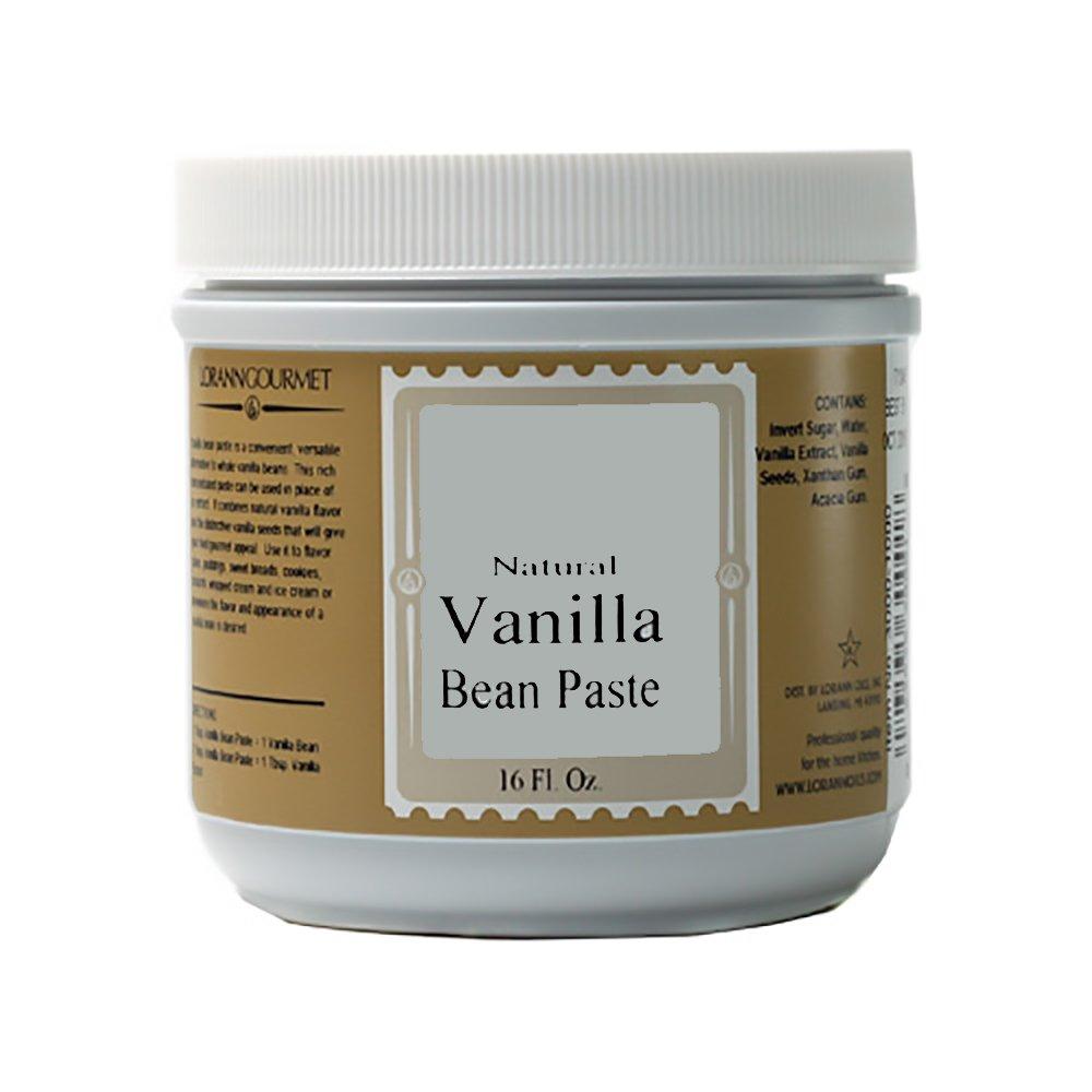Vanilla Bean Paste, Natural, 16 Ounce, LorAnn