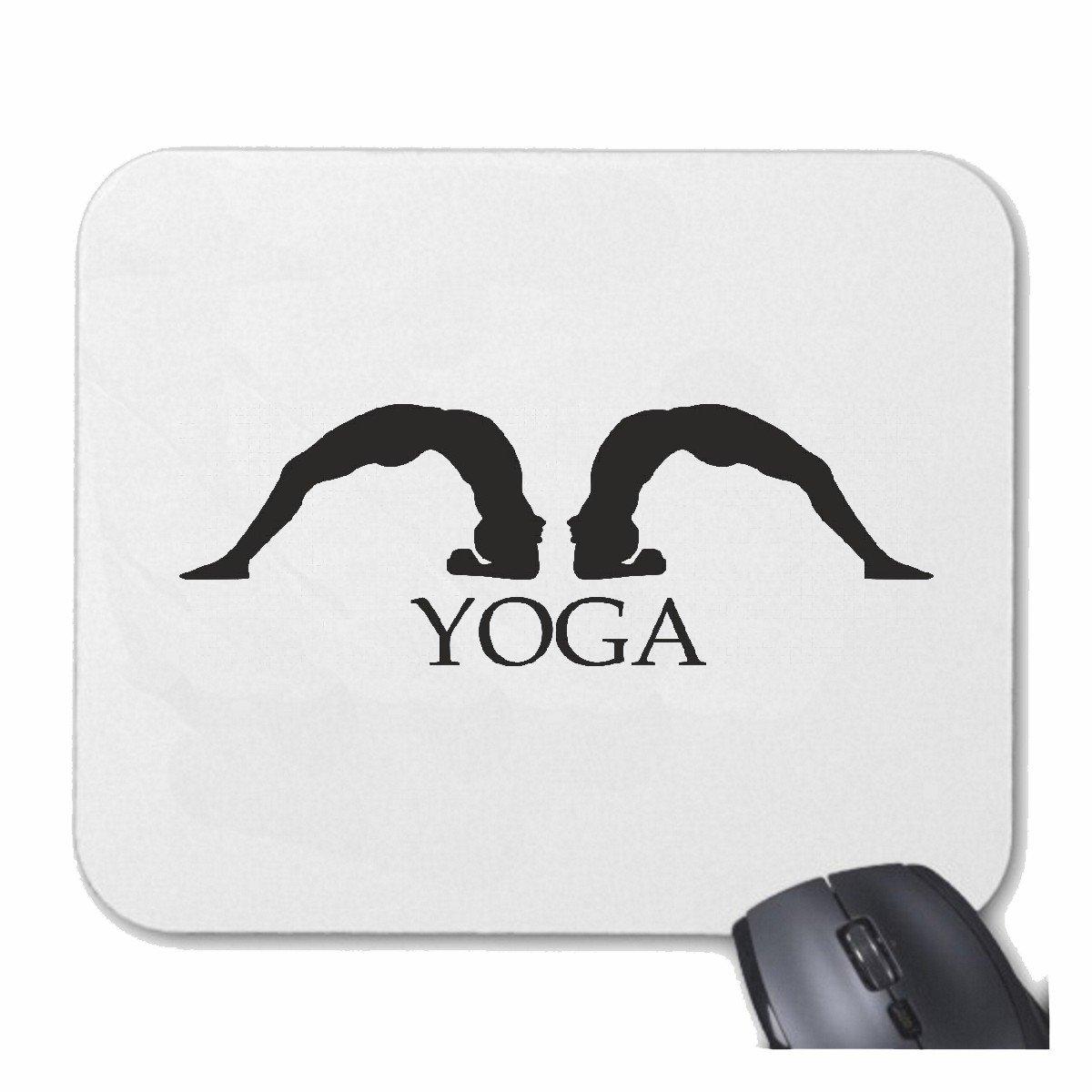 Mousepad alfombrilla de ratón YOGA gimnasio de fitness yoga ...