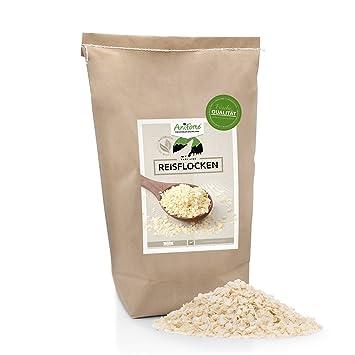 AniForte b.a.r.f. Line Copos de arroz 10 kg - Varios. tamaños - Producto Natural para Perros: Amazon.es: Productos para mascotas