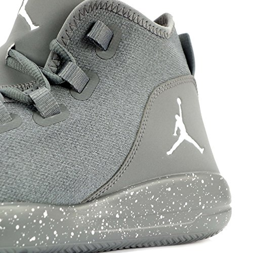 Nike Mens Jordan Rivelare Scarpa Da Basket (cool Grigio / Bianco-cool Grigio)