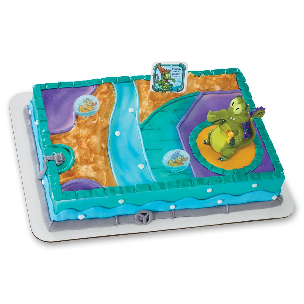 Decopac Where's My Water Swampy and Duckies DecoSet Cake Topper
