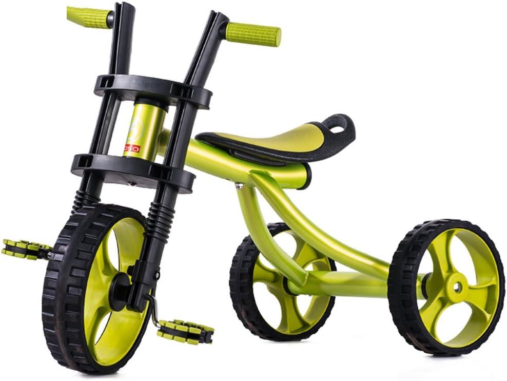 Triciclo Infantil Bicicleta para niños Triciclo Triciclo Bicicleta de Paseo Triciclo de Juguete Bicicleta Infantil Bicicleta para Instalar Triciclo equilibrado 2-5 años Inflable niño Harley Coche