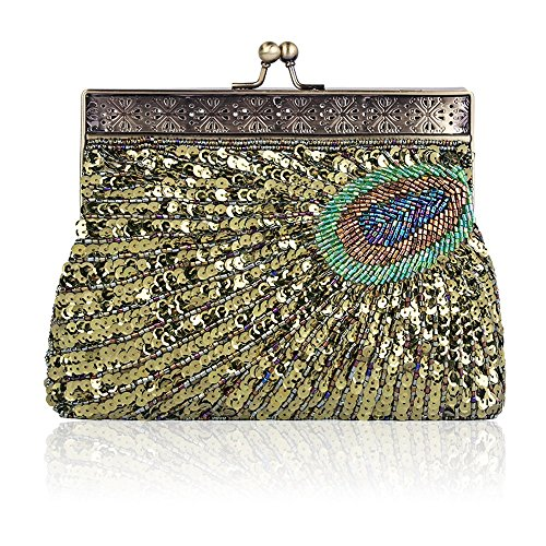 Wallet Bead Purse Sequined Handheld Evening Seed Color Embroidery Prom Handbag Bag 2 Handmade Party 6 Wedding Women Vintage wIxz088q