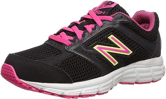 New Balance 460v2, Zapatillas de Running para Mujer, Negro (Black/Pink), 35 EU: Amazon.es: Zapatos y complementos