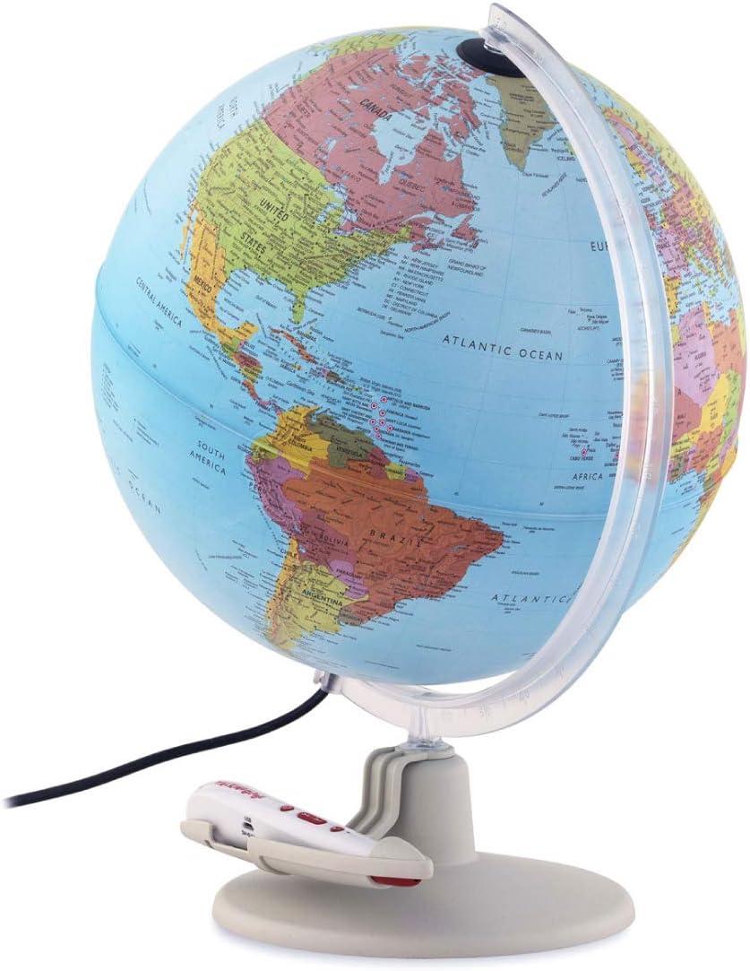Waypoint Geographic Parlamondo Interactive Talking Smart Globe 12