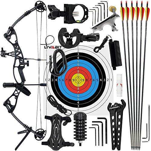 LIVABIT Morningedge Set Archery Series 40-50lbs Ambidextrous