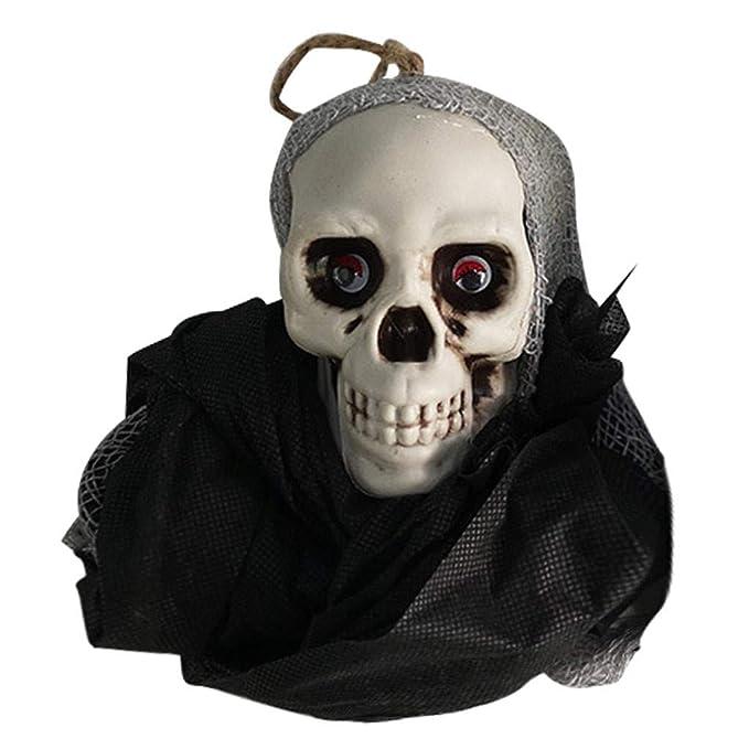Amazon.com: SUNyongsh Halloween Skull Hanging Ghosts Horror ...