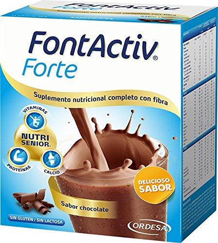 Fontactiv Forte Chocolate - 14 Unidades: Amazon.es: Salud y cuidado personal