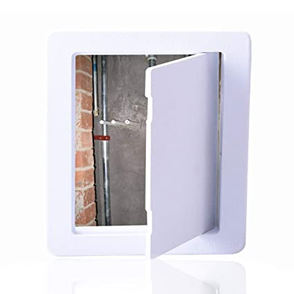 Amazon.com: Reinforced Hinged Plastic Access Panel for ...