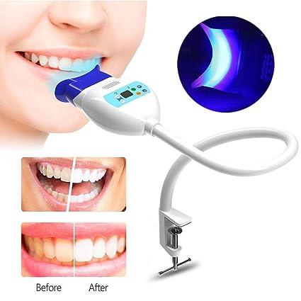 Luz blanqueador de dientes, lámpara a Blanqueamiento de los dientes de escritorio a Blanqueamiento a